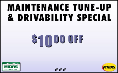 Vehicle tune up coupons
