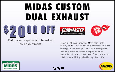 Discount coupons for flowmaster mufflers